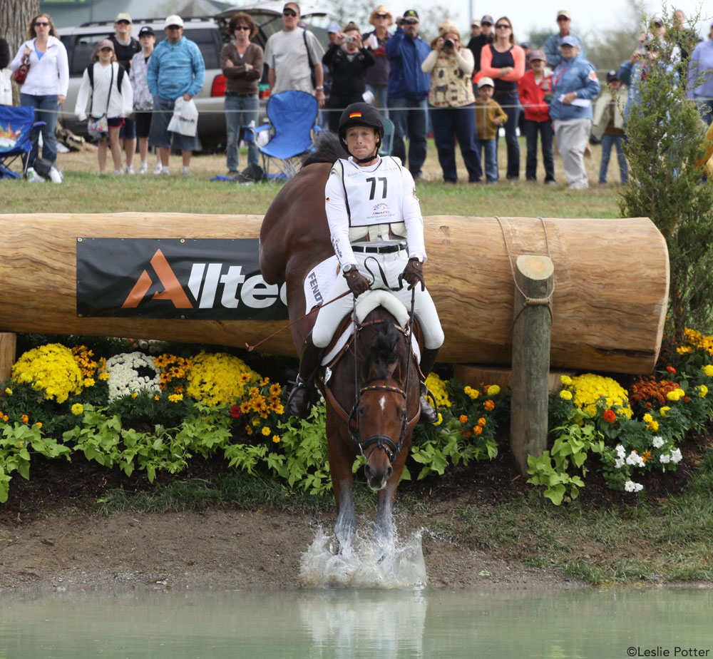 Michael Jung and La Biosthetique Sam FBW at WEG 2010