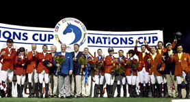 2008 Nations Cup medal winners