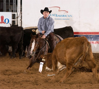 Ms. Peppy Cat and Pete Branch - NCHA Open World Champions