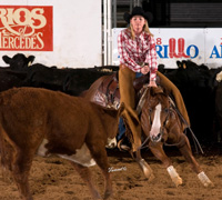 Trickalena's Choice and Pricilla Crawley - NCHA Senior Youth World Champions