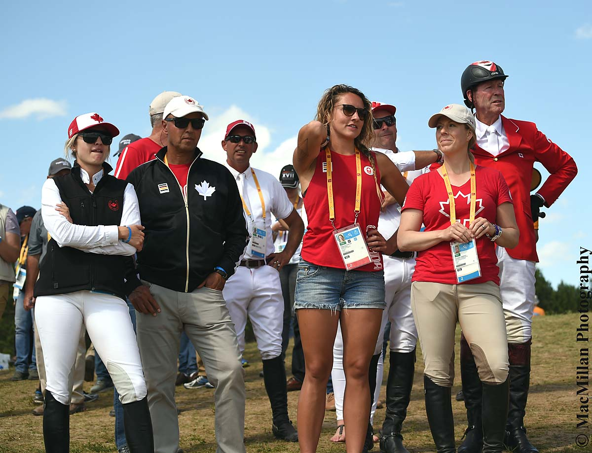 PanAms Show Jumping Team