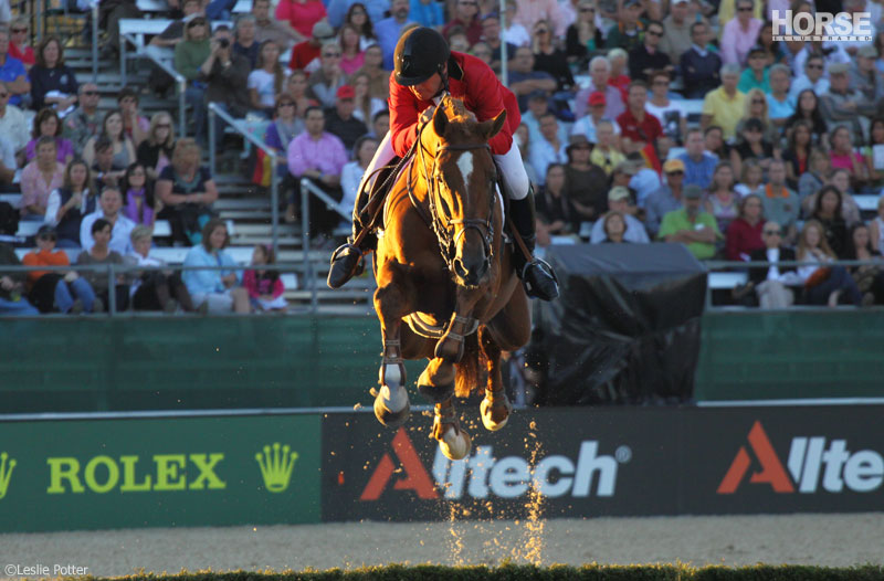 Philippe LeJeune at the 2010 World Equestrian Games