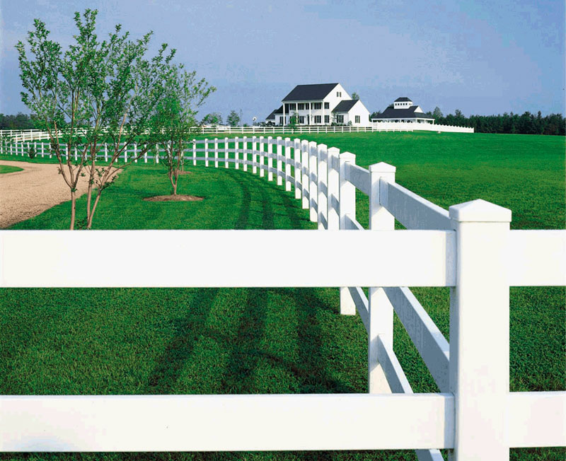 PVC Fencing is one horse fencing option