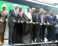 The Saudi Arabian Equestrian Federation helped launch the exhibit