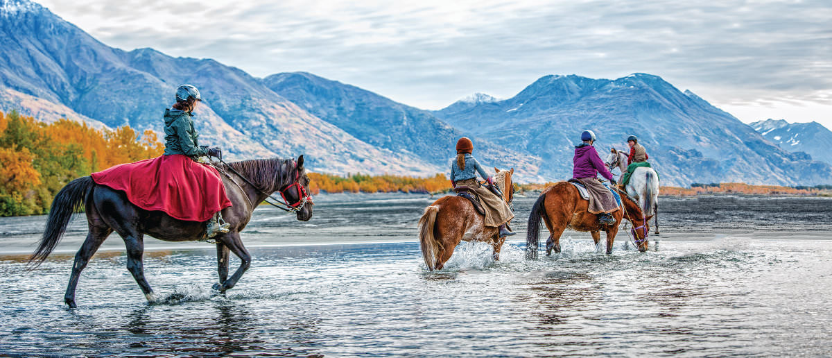 Riding in Alaska's Backcountry