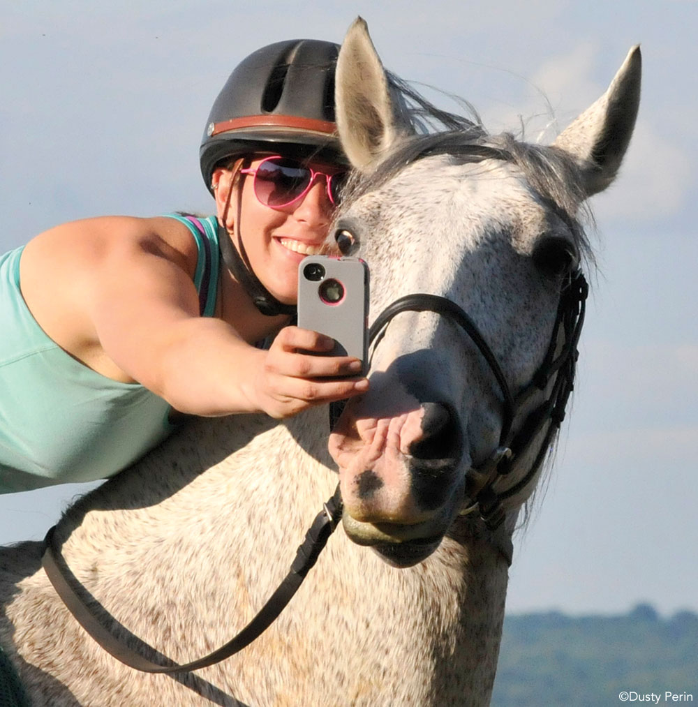 Selfie with Horse