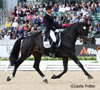 Steffen Peters won the 2011 World Dressage Masters with a record score