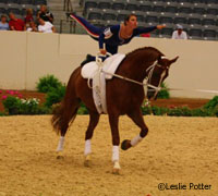 The USEF announced the U.S. vaulting team for the 2010 WEGs