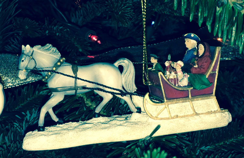 Washington Christmas Ornament