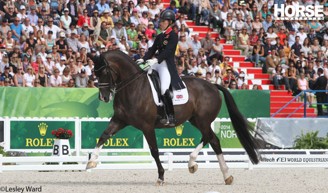 Charlotte Dujardin and Valegro