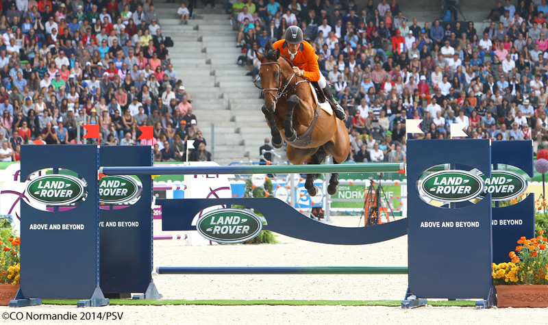 Jeroen Dubbeldam and Zenith SFN at the 2014 World Equestrian Games