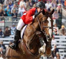 McLain Ward and Sapphire at the World Equestrian Games