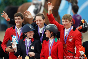 Team Europe wins show jumping gold at the Youth Olympics