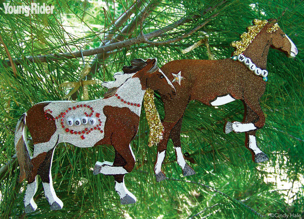 Young Rider Horse Ornament