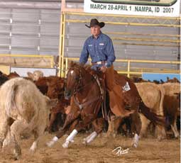 The NRCHA Stakes will be held in Nampa, Idaho