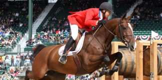 Mario Deslauriers at the 2010 Alltech FEI World Equestrian Games