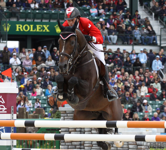 Eric Lamaze and Hickstead at the 2010 World Equestrian Games