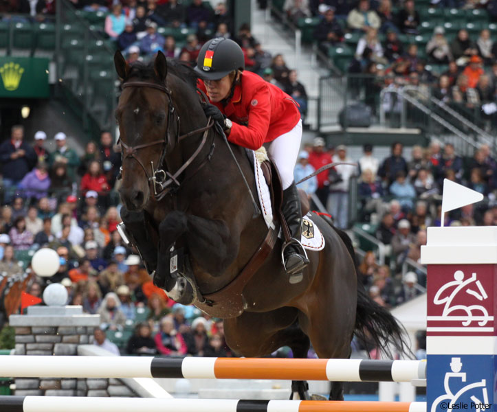 Meredith Michaels-Beerbaum at the 2010 World Equestrian Games