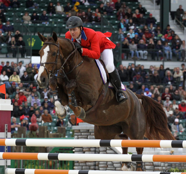 McLain Ward and Sapphire at the 2010 World Equestrian Games