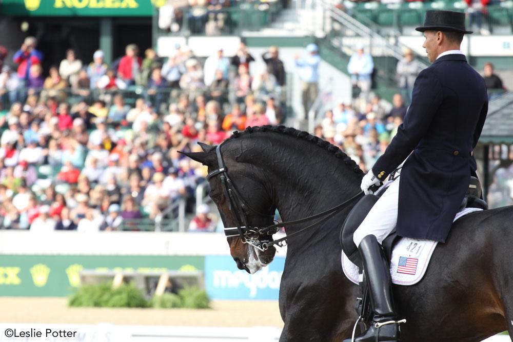 Steffen Peters riding Ravel