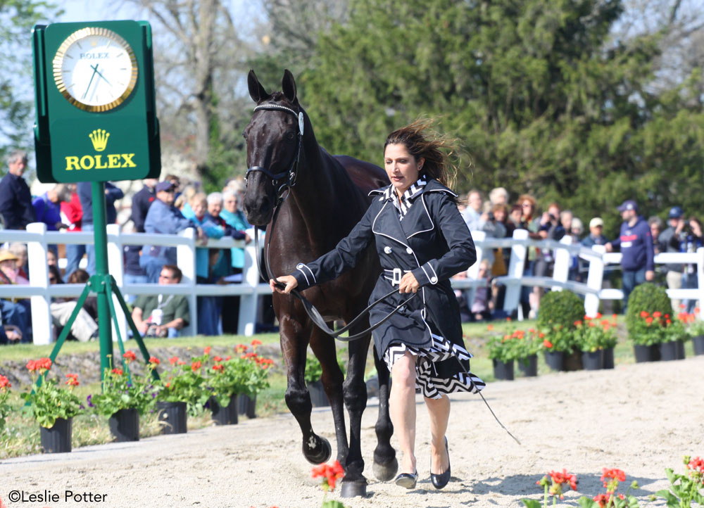 Gina Miles at the 2015 Rolex Kentucky Three-Day Event