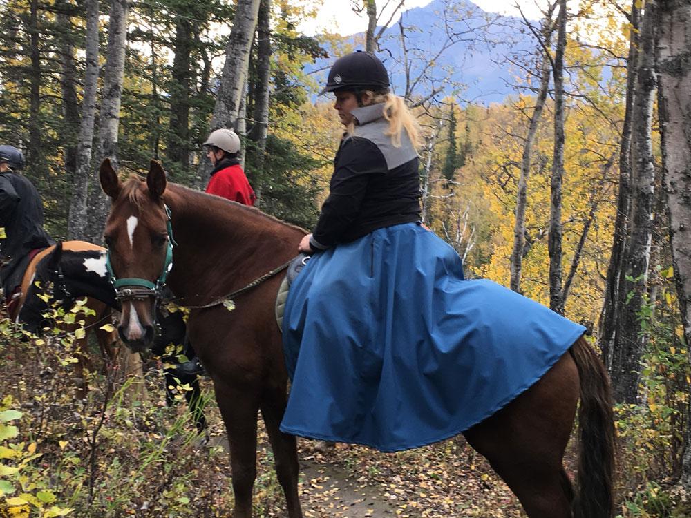Arctic Horse Skirt