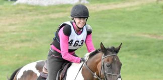 Tess and Dakota at the American Eventing Championships