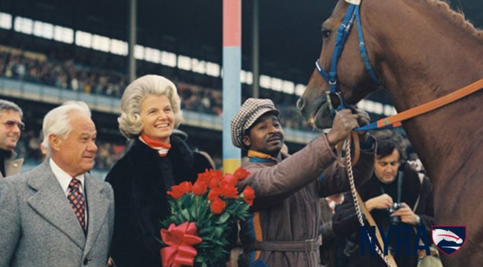 Penny Chenery and Secretariat