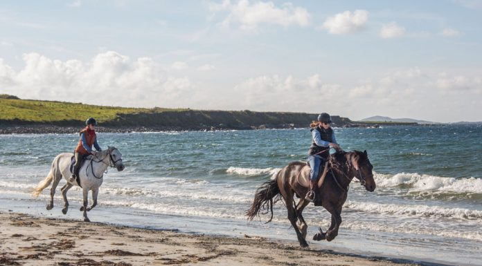 Beach Riding in Ireland