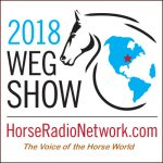 2018 World Equestrian Games podcast logo