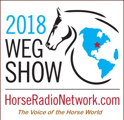 2018 World Equestrian Games podcast logo