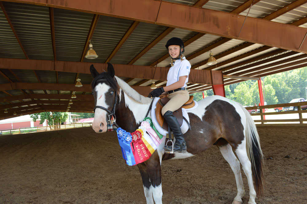 Heart of Phoenix Equine Rescue Trainers Challenge winner