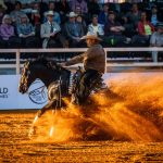 Reining test event for Tryon 2018