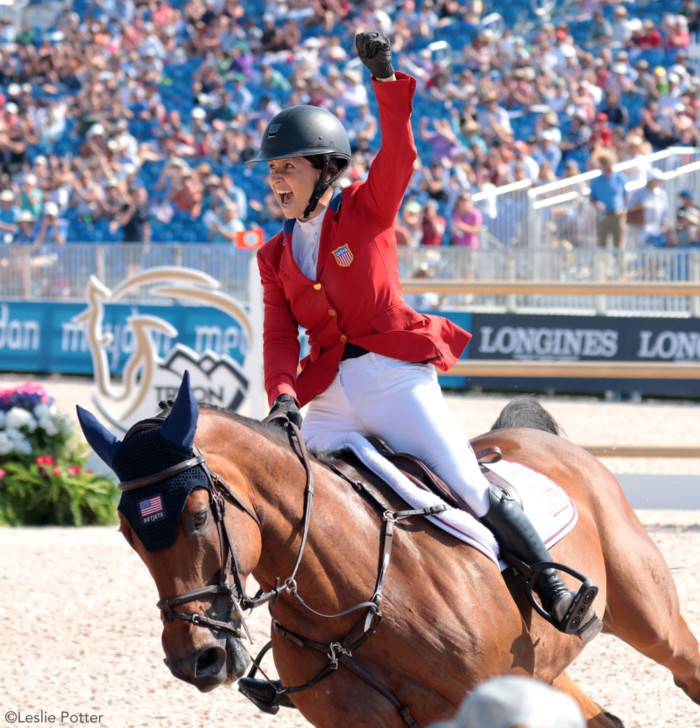 Adrienne Sternlicht and Christalline 2018 WEG