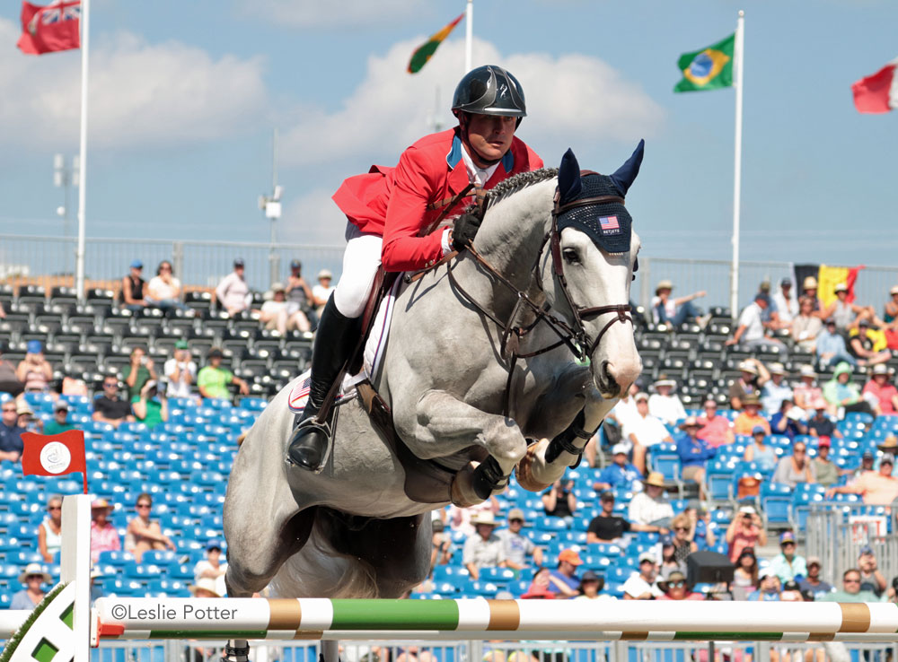 Devin Ryan and Eddie Blue of the United States 2018 WEG