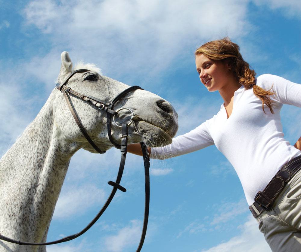 Girl and horse: horse ownership guilt