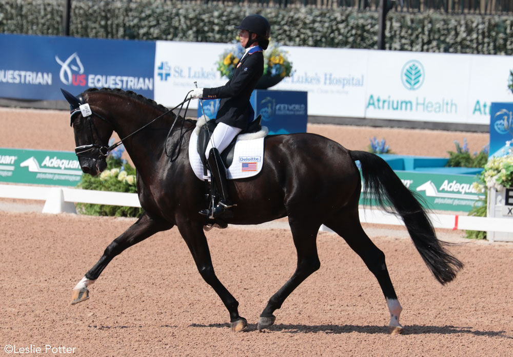 Kate Shoemaker para-dressage 2018 WEG
