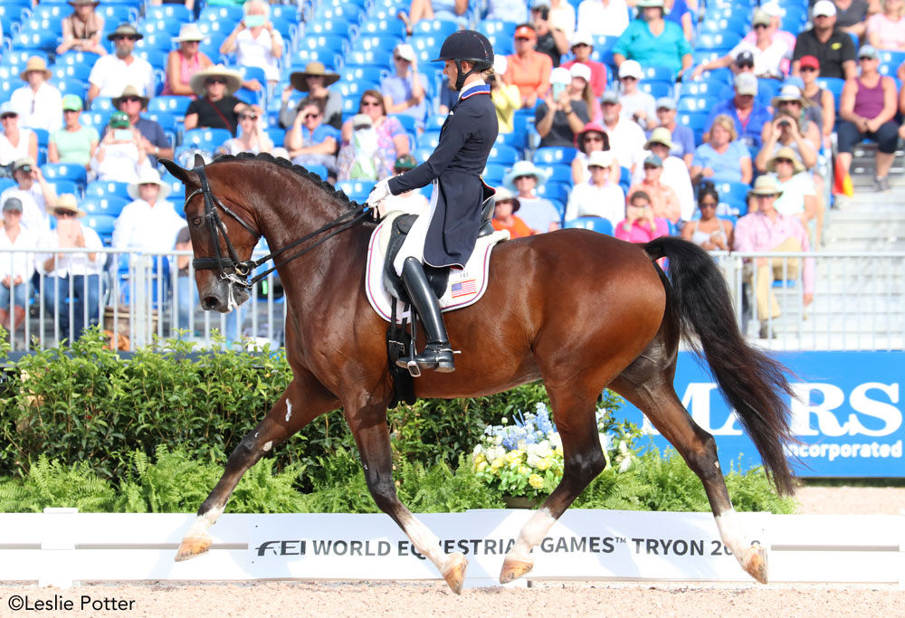 Laura Graves and Verdades 2018 WEG