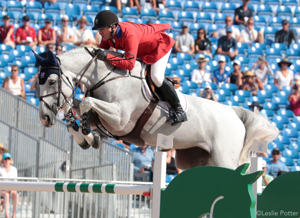 McLain Ward and Clinta