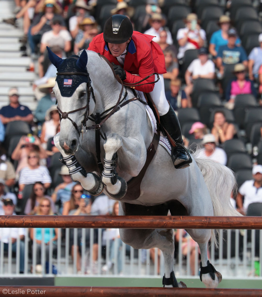 McLain Ward and Cinta of the U.S.