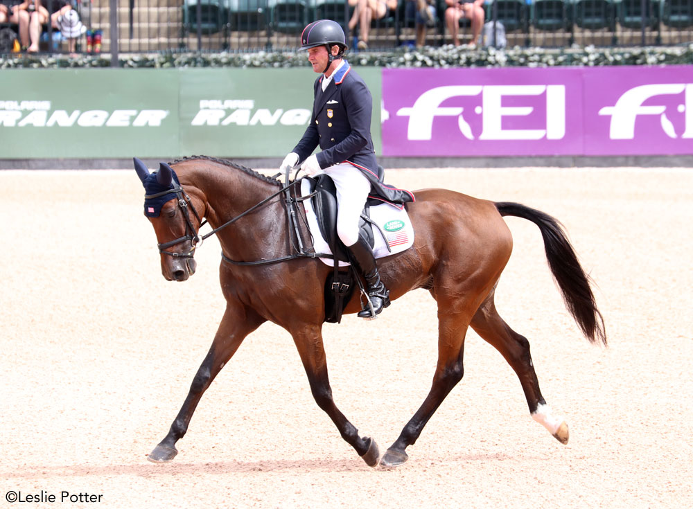American rider Phillip Dutton and Z 2018 WEG
