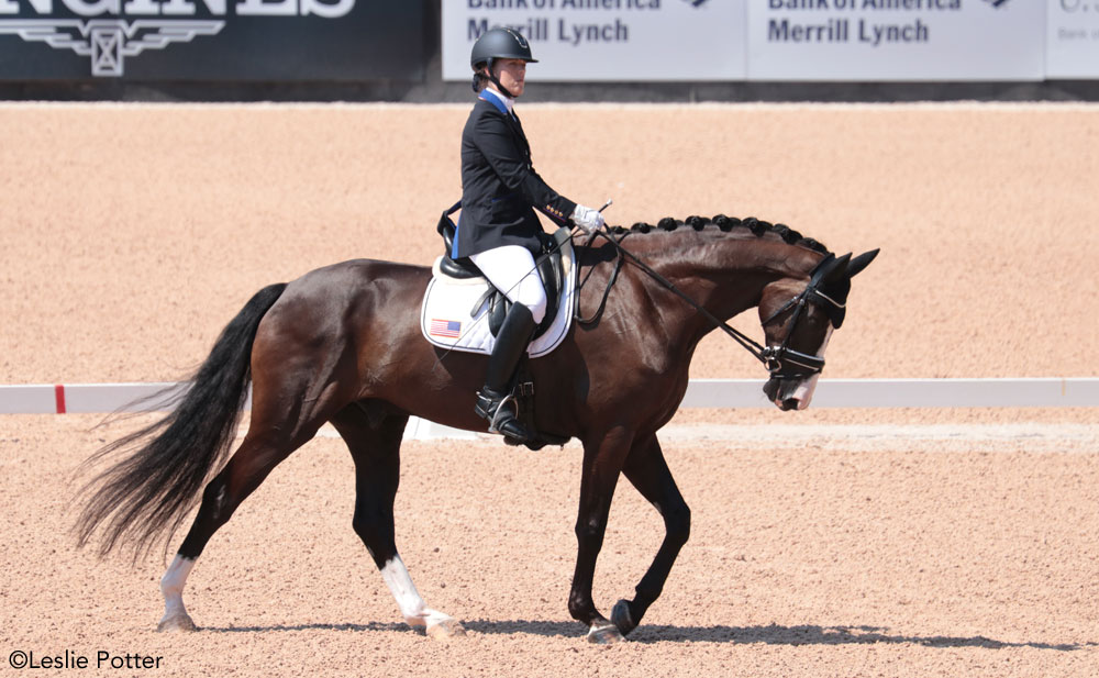 Roxanne Trunnel and Dolton 2018 WEG