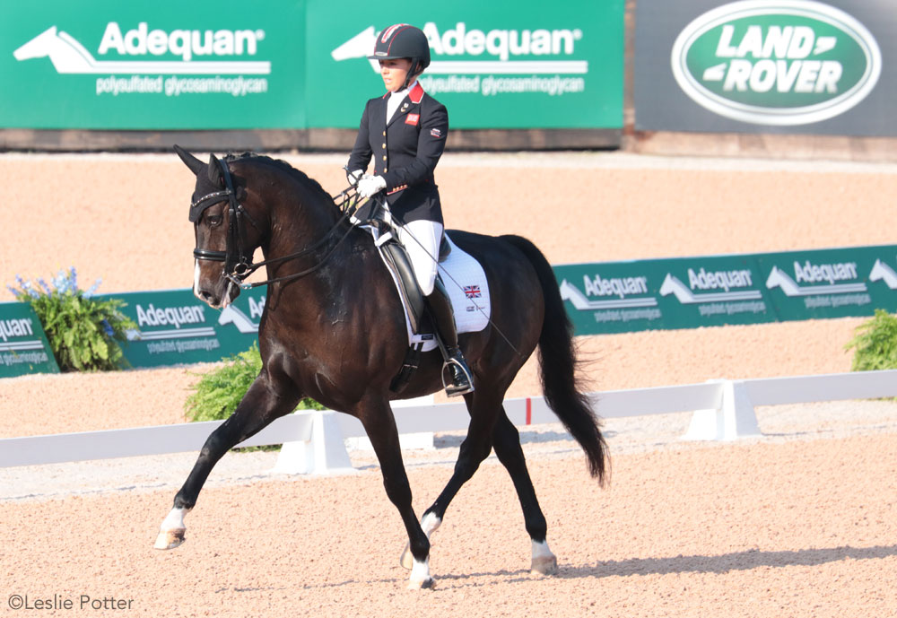Sophie Wells and C Fatal Attraction para-dressage