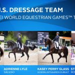 U.S. Dressage team for the 2018 WEG