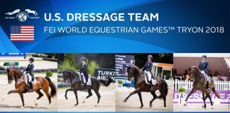 U.S. Dressage team for the 2018 WEG