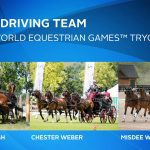 U.S. Combined Driving team for the 2018 WEG