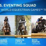 U.S. Eventing Team for WEG 2018