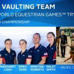 US Vaulting Team for 2018 WEG