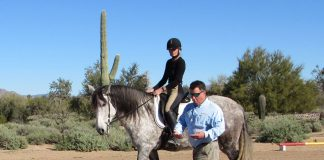 Horseback aikido