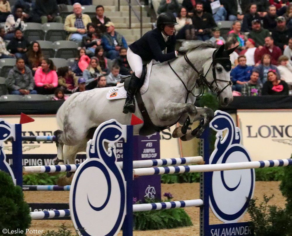Beezie Madden and Chic Hin D Hyrencourt - 2018 National Horse Show